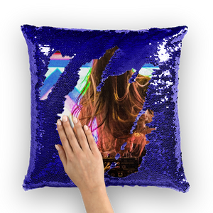 1Stop Festy Supply Shop  Bassnectar Sequin Pillow Cover