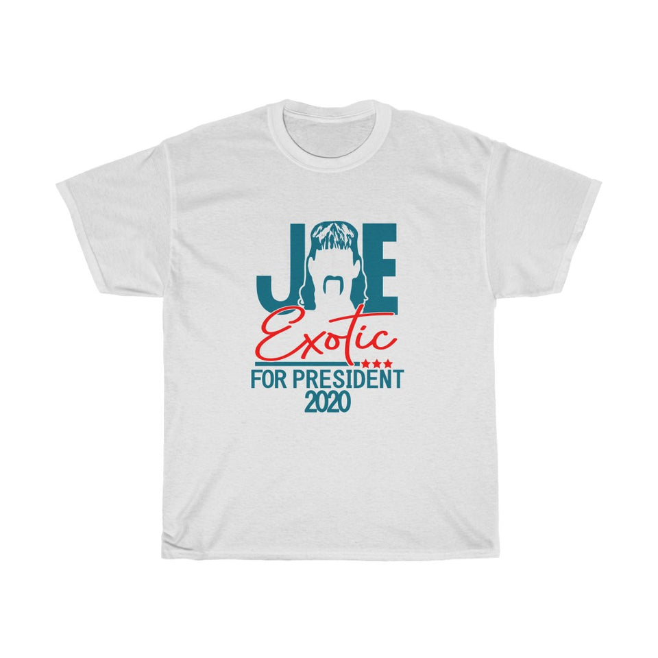 Joe Exotic For President Tiger King Unisex T- Shirt -Music Festival Essentials-1StopFestyShop.com
