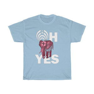 Pink Elephants Bassnectar Unisex Heavy Cotton Tee -Music Festival Essentials-1StopFestyShop.com