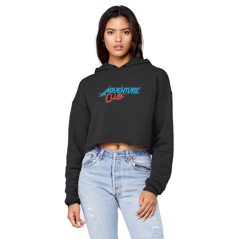 Adventure Club Unisex Cropped Raw Edge Boyfriend Hoodie