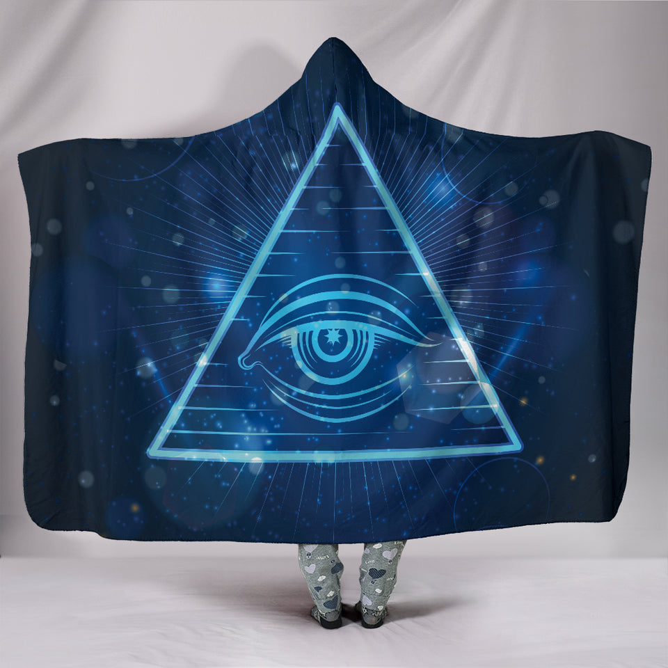 Spirit Eye Hooded Blanket -Music Festival Essentials-1StopFestyShop.com