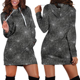 Spider Web Hoodie Dress -Music Festival Essentials-1StopFestyShop.com