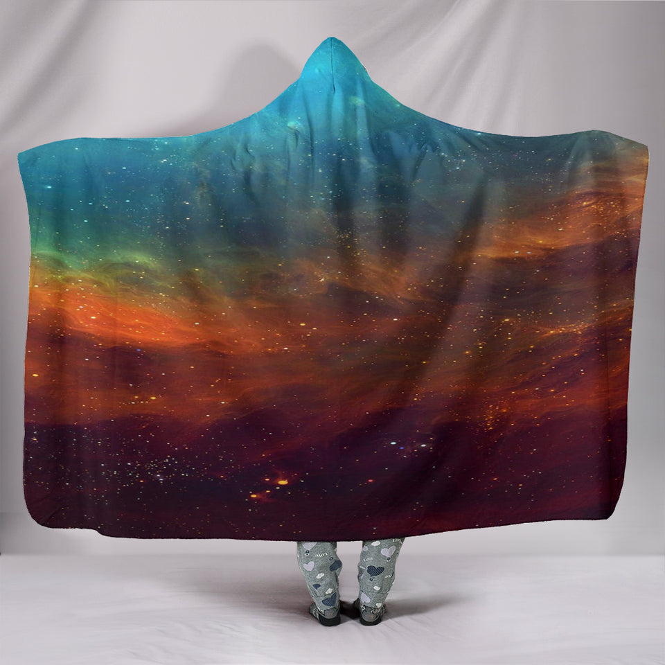 NP Universe Hooded Blanket -Music Festival Essentials-1StopFestyShop.com