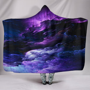 1Stop Festy Supply Shop  NP Purple Universe Hooded Blanket