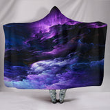 NP Purple Universe Hooded Blanket -Music Festival Essentials-1StopFestyShop.com