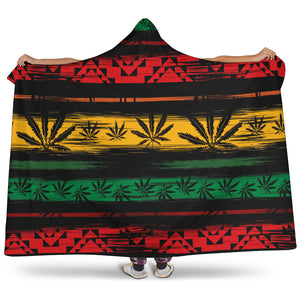 Jamaica Hooded Blanket -Music Festival Essentials-1StopFestyShop.com