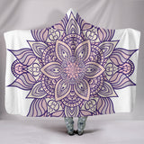 1Stop Festy Supply Shop  HandCrafted Lotus Mandala Hooded Blanket