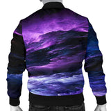1Stop Festy Supply Shop  NP Purple Universe Men's Bomber Jacket