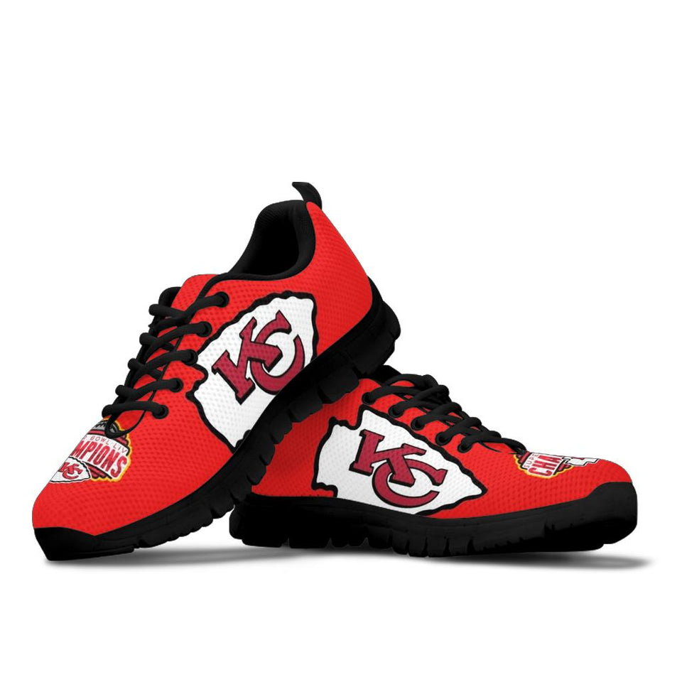 Kansas City Chiefs Super Bowl Sneaker Shoes