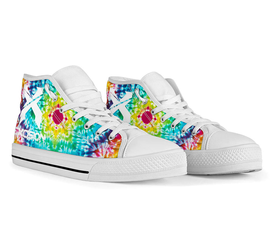 1Stop Festy Supply Shop  Excision High Top Festival Sneaker Shoes