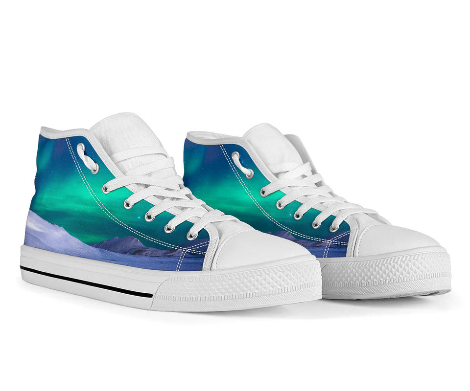Northern Lights High Top Festival Shoes -Music Festival Essentials-1StopFestyShop.com