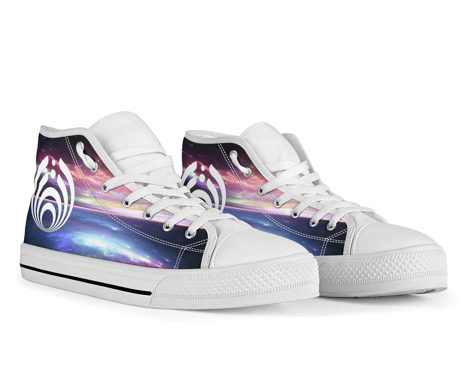 Bassnectar Ocean Night High Top Shoes - 1Stop Festy Supply Shop