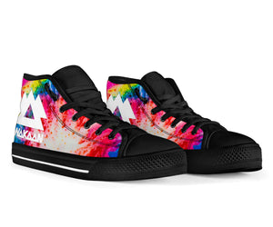 Wakaan Tie Dye High Top Shoes - 1Stop Festy Supply Shop
