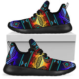 1Stop Festy Supply Shop  California Coast Sunset Mesh Knit Sneakers