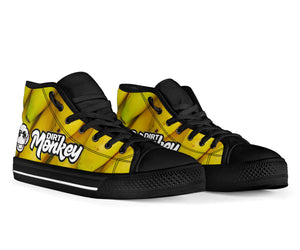 1Stop Festy Supply Shop  Dirt Monkey Banana High Top Shoes