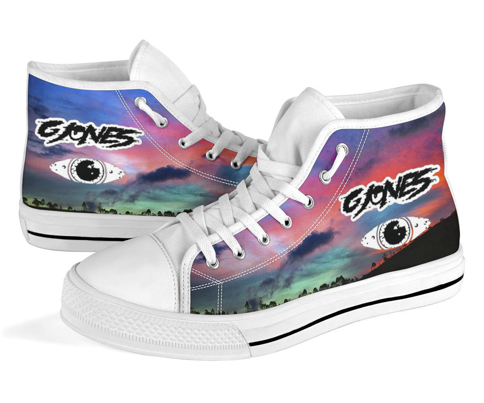 1Stop Festy Supply Shop  G Jones High Top Festival Sneaker Shoes