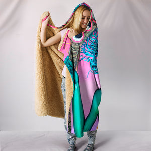 The Gate Of Knowledge - Hooded Blanket -Music Festival Essentials-1StopFestyShop.com