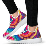 1Stop Festy Supply Shop  Tie Dye Swirl Mesh Sneaker Shoes