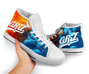 Griz Fire & Ice High Top Shoes -Music Festival Essentials-1StopFestyShop.com