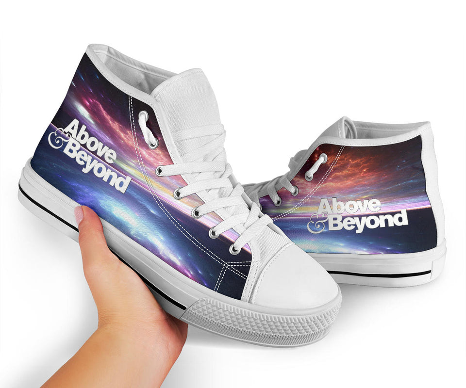 Above & Beyond Ocean High Top Shoes -Music Festival Essentials-1StopFestyShop.com