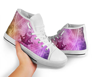 1Stop Festy Supply Shop  Goddess Burst High Top Sneaker Shoes