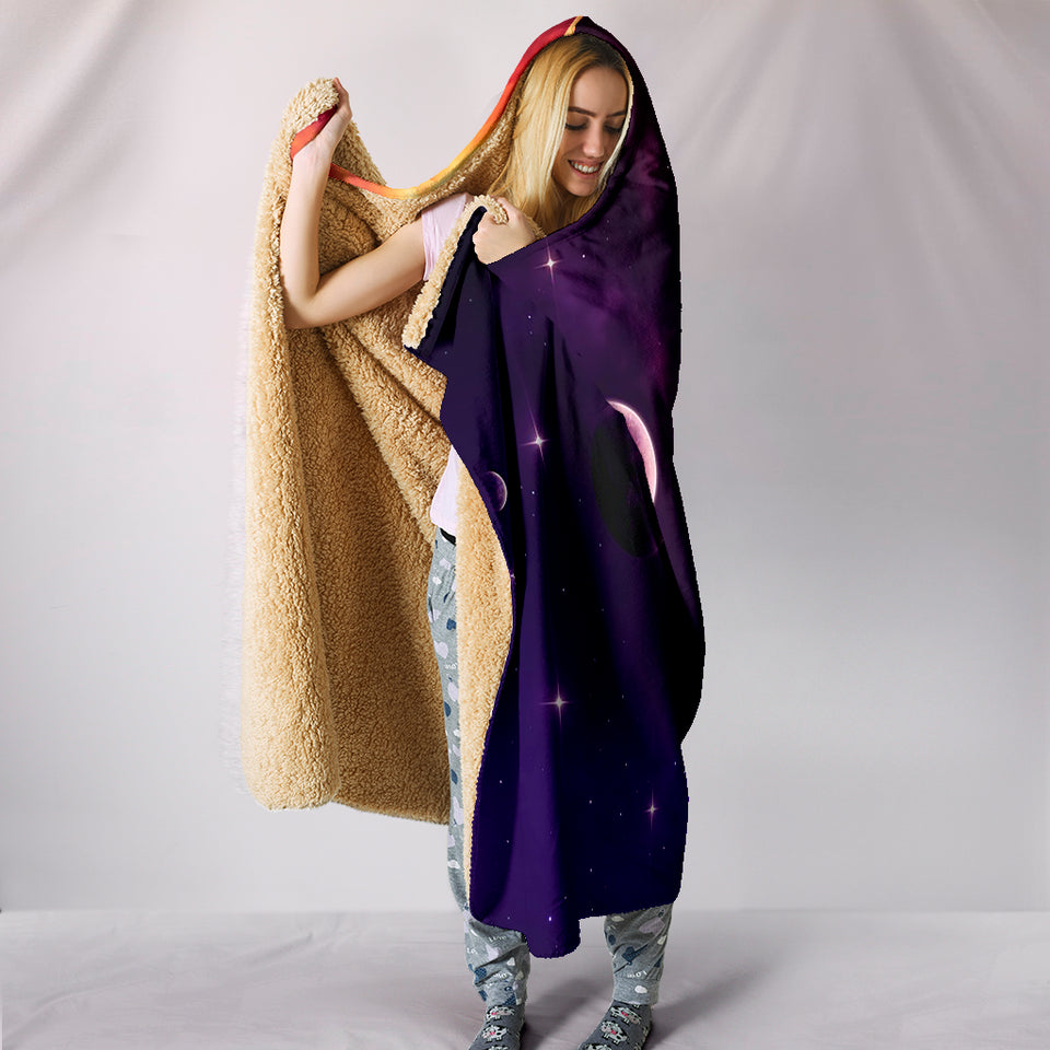 Hooded Blanket - Galaxy -Music Festival Essentials-1StopFestyShop.com