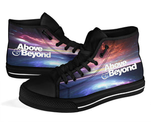 1Stop Festy Supply Shop  Above & Beyond Ocean High Top Shoes
