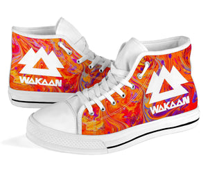 Wakaan Swirl High Top Shoes -Music Festival Essentials-1StopFestyShop.com
