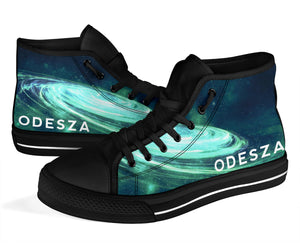 Odesza Milky Way High Top Shoes -Music Festival Essentials-1StopFestyShop.com