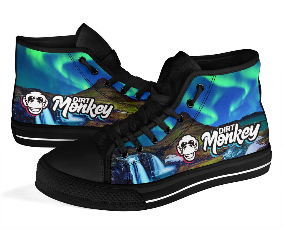 Dirt Monkey Northern Lights High Top Festival Sneaker Shoes