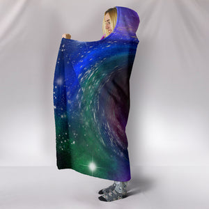 1Stop Festy Supply Shop  Black Hole Hooded Blanket