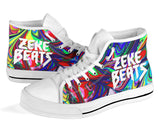 Zeke Beats High Top Festival Sneaker Shoes