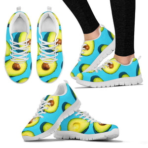 Avocado Halves Sneaker Shoes -Music Festival Essentials-1StopFestyShop.com
