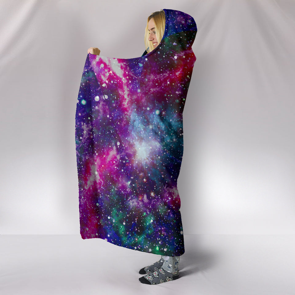 1Stop Festy Supply Shop  Galaxy Yoga Hooded Blanket