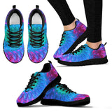 Purple Tie Dye Festival Sneaker Shoes -Music Festival Essentials-1StopFestyShop.com