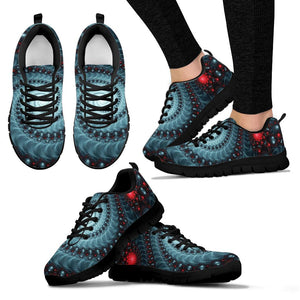 Galaxy Spiral Festival Sneaker Shoes -Music Festival Essentials-1StopFestyShop.com