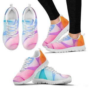Rainbow Prism Festival Sneaker Shoes -Music Festival Essentials-1StopFestyShop.com