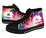 Wakaan Tie Dye High Top Shoes -Music Festival Essentials-1StopFestyShop.com