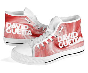 David Guetta High Top Sneaker Shoes