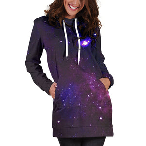 1Stop Festy Supply Shop  Galaxy Festival Hoodie Dress