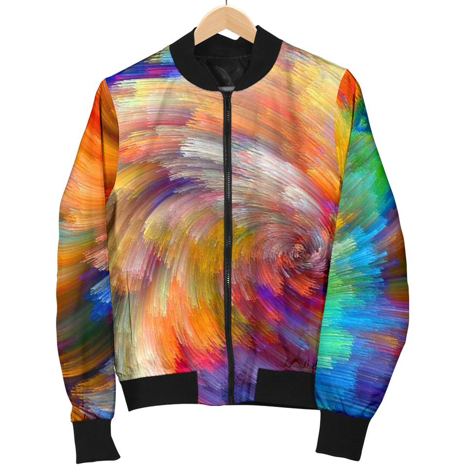 Painted Colours Ladies Bomber Jacket - 1Stop Festy Supply Shop