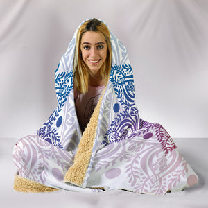 HandCrafted Sun and Moon Hooded Blanket -Music Festival Essentials-1StopFestyShop.com