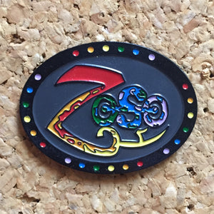 Zeso Oval Hat Pin -Music Festival Essentials-1StopFestyShop.com