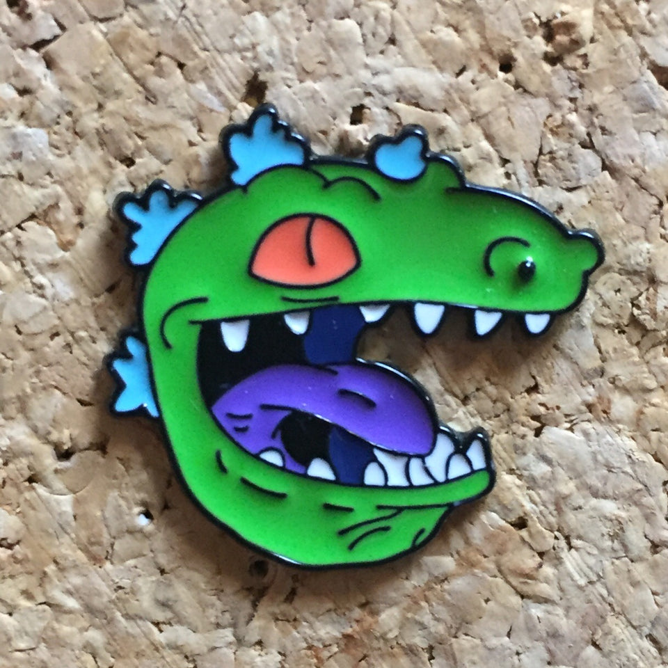 Rugrats Reptar Enamel Hat Pin - 1Stop Festy Supply Shop