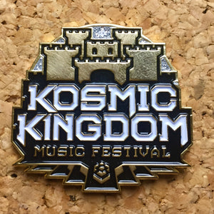 1Stop Festy Supply Shop  Kosmic Kingdom Festival Official Hat Pin