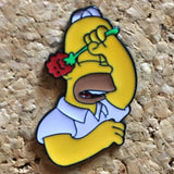 Homer Simpson Festival Hat Pin -Music Festival Essentials-1StopFestyShop.com