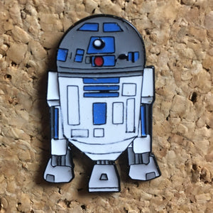 R2D2 Star Wars Hat Pin -Music Festival Essentials-1StopFestyShop.com