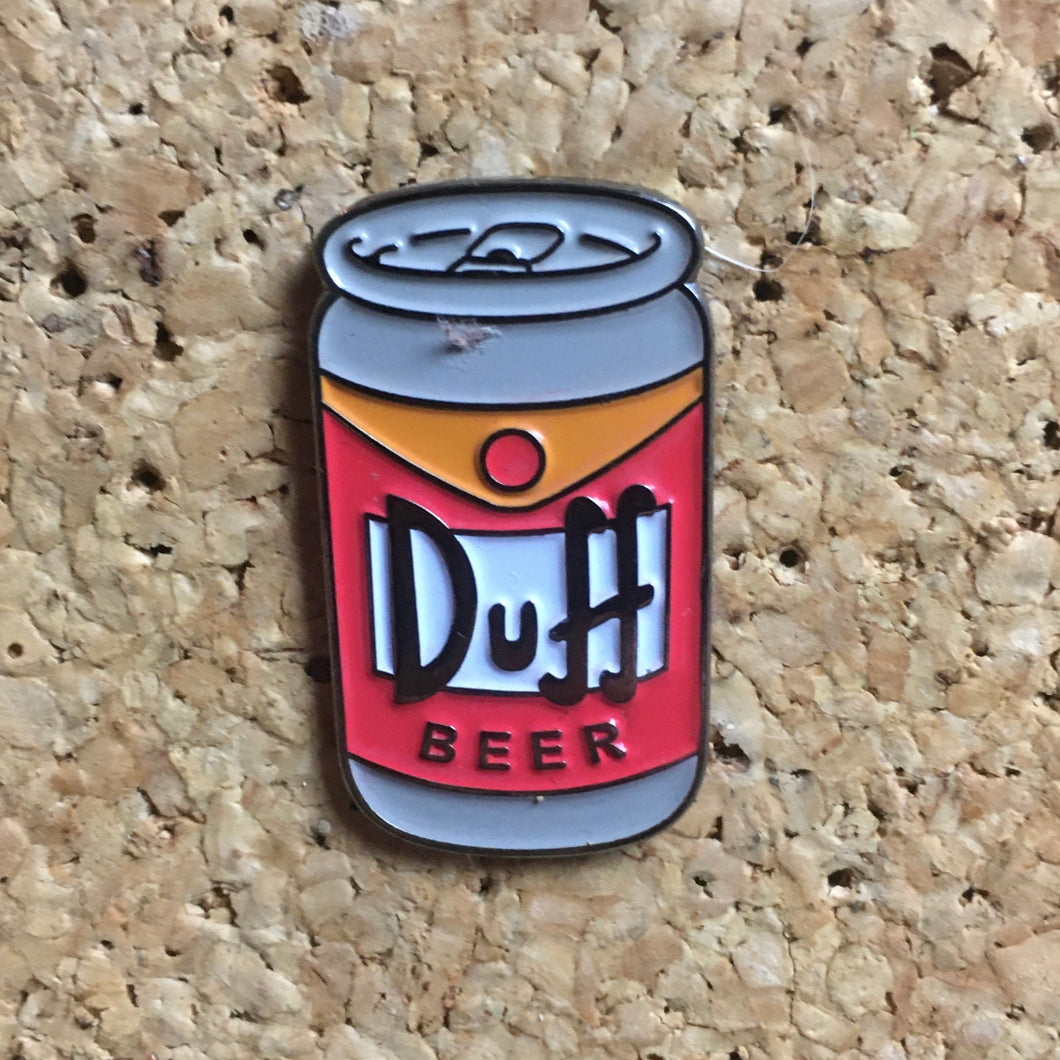1Stop Festy Supply Shop  Duff Beer Simpson's Hat Pin