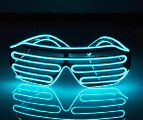 LED Multi Color Rave Glasses -Music Festival Essentials-1StopFestyShop.com