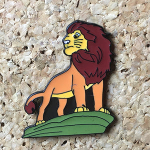 Mufasa Lion King Hat Pin -Music Festival Essentials-1StopFestyShop.com